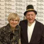 Delores Yurkin and Pete Taylor enjoying the Photo Booth.