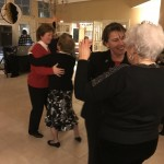 The ladies take over the dance floor!