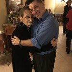 DJ Chuck Argento and Mary Erle share a dance together every year.