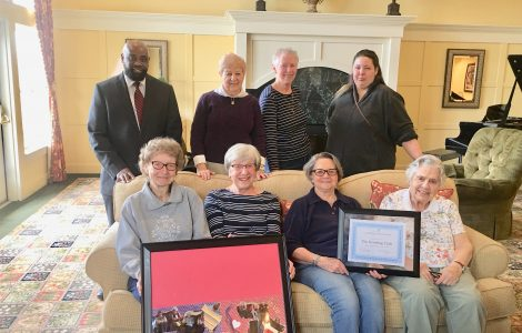 """Legacy at Fairways Knitting Group, """"Knits with a Timeless Twist"""" Receives Recognition"""
