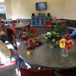 What beautiful flowers that came from one of our Watermark University presenters' garden!